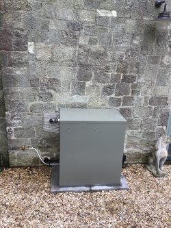 Grant vortex Pro External Unit Install