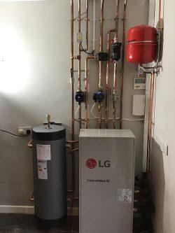 LG Heat Pump Installation